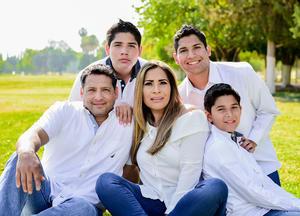 26062018 Eduardo, Josie, Diego, Antonio y Eduardo.