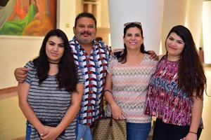 26062018 Ale, Ricardo, Rocío y Margie.