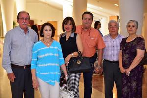 26062018 Eugenio, Isabel, Gaby, Alejandro, Manolo y Lety.
