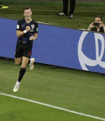 Perisic marcó el gol que dio los tres puntos a Croacia.