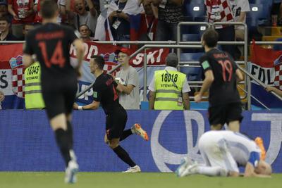 Los croatas se llevaron el triunfo en los últimos minutos del partido.