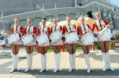 Aficionados del tricolor 'se apoderan' de Ekaterimburgo