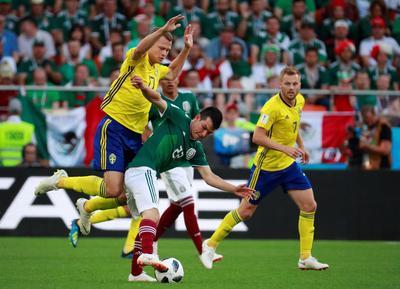 Lozano fue neutralizado por los suecos.