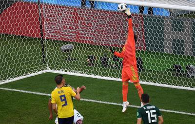 Ochoa fue factor durante el partido.