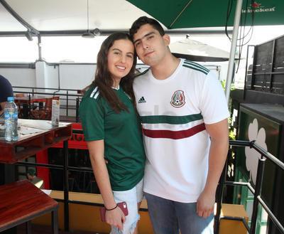 Marie y Miguel Camacho.