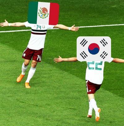 Con memes, México le agradece a Corea del Sur