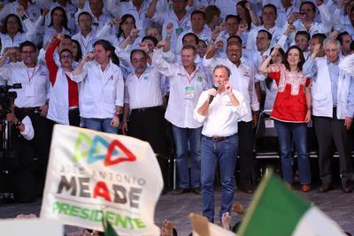 En su cierre de campaña, Meade aseguró que el PRI ganará las cinco elecciones el próximo domingo.