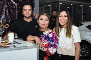 28062018 Luis, Aracely y Nancy.