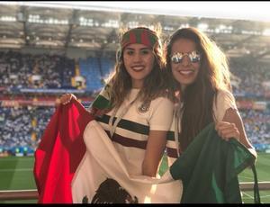 28062018 APOYAN A LA SELECCIóN.  Arantxa y Stephanie López Muñoz.