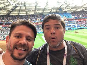 28062018 DESDE RUSIA.  Carlos Sánchez y Daniel Guzmán.