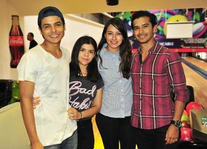 30062018 Alan, Lupita, Mayte y Alejandro.