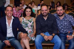 30062018 EN RECIENTE EVENTO.  Jorge, Daniela, Rodrigo y Christian.