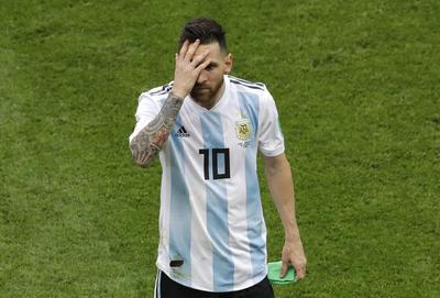 Messi elevó a 756 minutos su sequía goleadora en rondas eliminatorias.