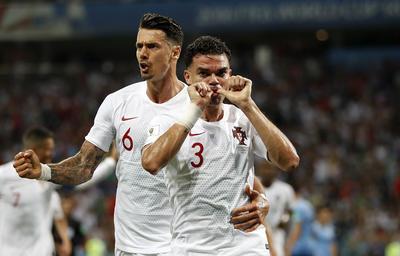Portugal solo vio anotación por parte de Pepe.