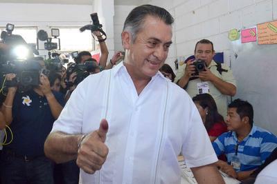 El candidato independiente a la Presidencia, Jaime Rodríguez Calderón, dijo esperar hoy unos comicios tranquilos y sin problemas postelectorales, con el ánimo de haber generado una conciencia diferente en su campaña.
