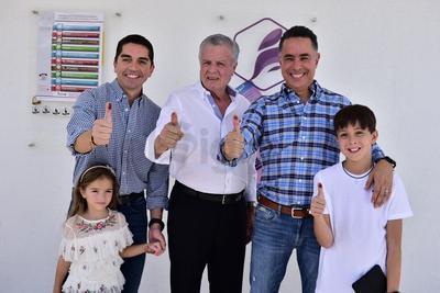 Luis Fernando Salazar, Jorge Zermeño y Guillermo Anaya.