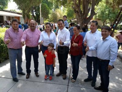 Antonio Gutiérrez Jardón del PRI, quien también busca ser presidente municipal.