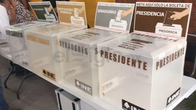 Se elige presidente de la República, diputaciones federales y senadurías.