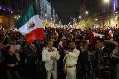 Se vivió una fiesta en las calles de la Ciudad de México.