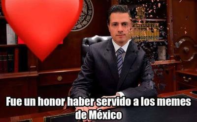 Enrique Peña Nieto tampoco escapó de las redes sociales ante el triunfo de Obrador.