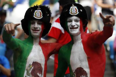 Así disfrutan los mexicanos del Mundial de Rusia 2018.