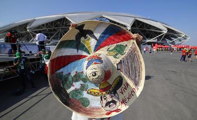 El color de los sombreros típicos mexicanos.