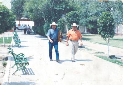 """01072018 En memoria de Valentino Rosas (f) de su amigo, Héctor Martínez, """"El Árabe""""."""