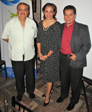 02072018 Javier Sánchez, Renata Chapa y Fernando Sánchez.