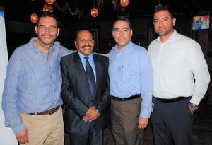 02072018 Raúl Muñoz, Abel Mejía, Nicolás Tinajero y Gerardo Reyes.
