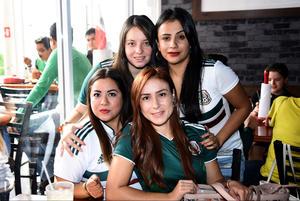 02072018 Alejandra, Karla, Alejandra y Fátima.