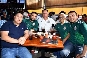 02072018 Mariano, Miguel, Jorge, Jacks y Vayron.