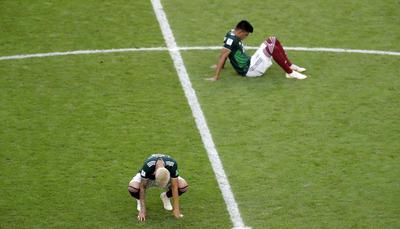 Los mexicanos se van del Mundial, nuevamente en octavos de final.