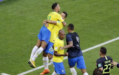 Los cariocas festejaron su pase a cuartos de final.