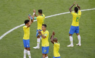 Los sudamericanos agradecen el apoyo de los suyos.