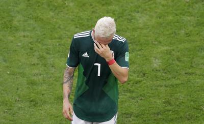 Un nuevo fracaso para la Selección Mexicana.