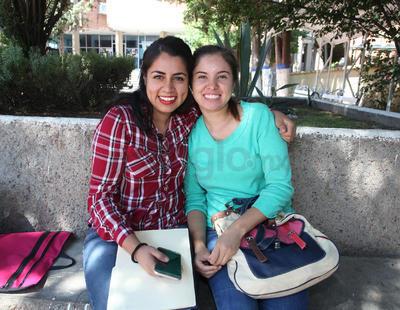 Daniela Rodríguez y Ana Laura Antuna.