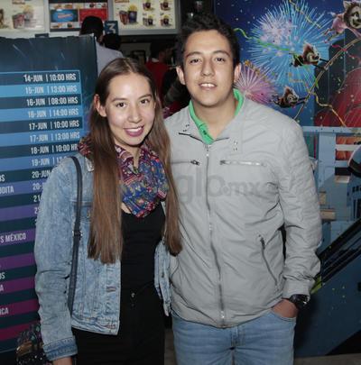 Daniela Aguilar y Daniel Reyes.