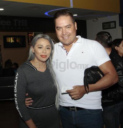 Raquel Medina y Uriel Saracho.