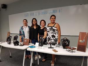 04072018 Ángeles Loaiza, Maricarmen Ruvalcaba, Marisol Chávez y Carely González.