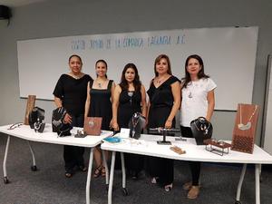 04072018 Rosario Olloqui Vicepresidenta del Cluster, Margarita Chimal, Cintya Rodríguez, Presidenta del Cluster, y Caro Castelán, Secretaria del Cluster.