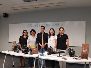 04072018 Lilia Nevárez, Adriana Torres, Pineda Damián, Director de Proyectos, Carolina Castelán y Silvia Aragón.