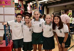 05072018 AMIGOS.  Miguel, Mario, Camila, Fátima y Natalia.