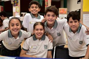 05072018 CONTENTOS.  Karol, Paulina, Jesús Uriel, Fernando e Iker.