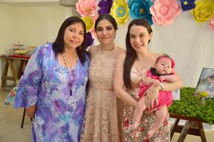 05072018 DESPIDE SU SOLTERíA.  Mónica García en compañía de Norma, Norma y Vanessa.