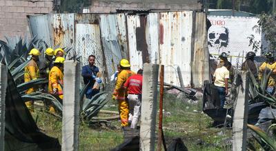 Esta es la tercera explosión con víctimas mortales que se registra en el mismo municipio en menos de un mes.