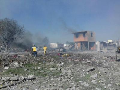 La Coordinación General de Protección Civil del estado (centro de México) afirmó en su cuenta de Twitter que el número de personas fallecidas es 19.