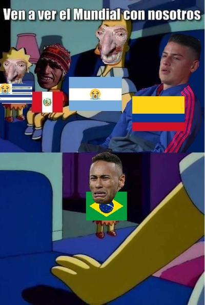 Internet 'explota' con los memes de la eliminación de Brasil