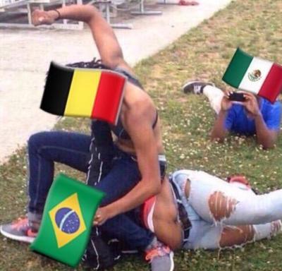 Brasil y Bélgica se midieron en un digno partido de cuartos de final, la primera parte fue bastante intensa, decididos a atacar, como si lo que pasara atrás no interesara, pero fueron los europeos los que tuvieron mejor eficacia para hacer la diferencia.