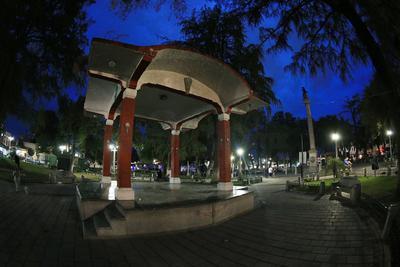 El primer trazo de la ciudad fue realizado por Alonso de Pacheco.