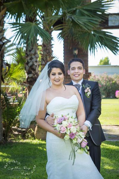 08072018 Liliana Ivonne Prieto Moreno y Christian Michael Samaniego Roel contrajeron matrimonio el 23 de junio en la Capilla La Piedad, donde fueron acompañados por sus padresy amistades cercanas. - Cynthia Ruiz